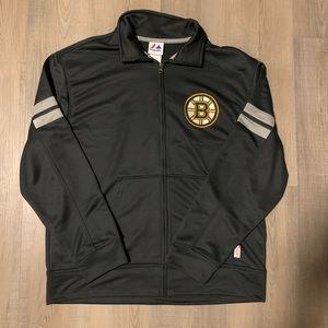 NEW Boston Bruins Majestic On-Ice Jacket | Large
